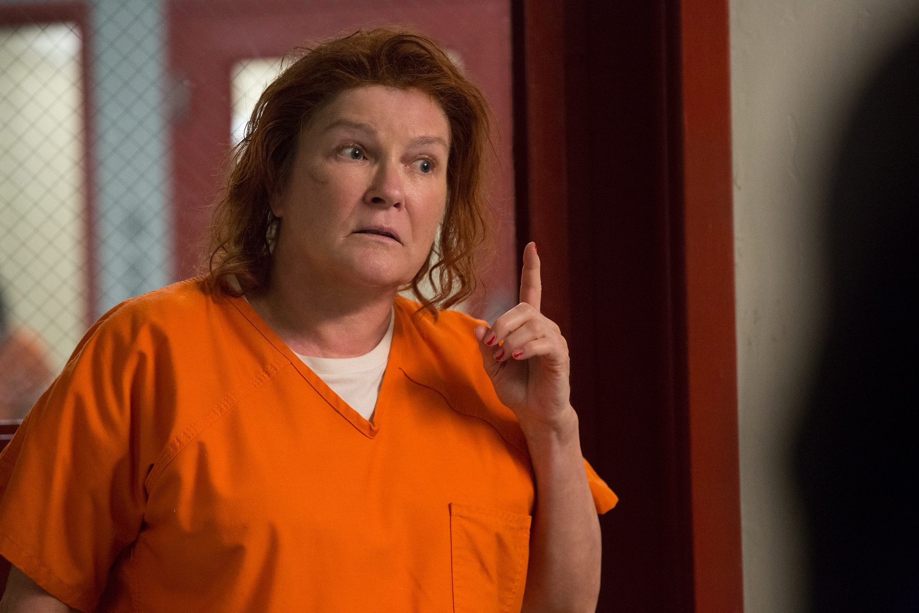 Orange Is the New Black: Kate Mulgrew in un'immagine della sesta stagione
