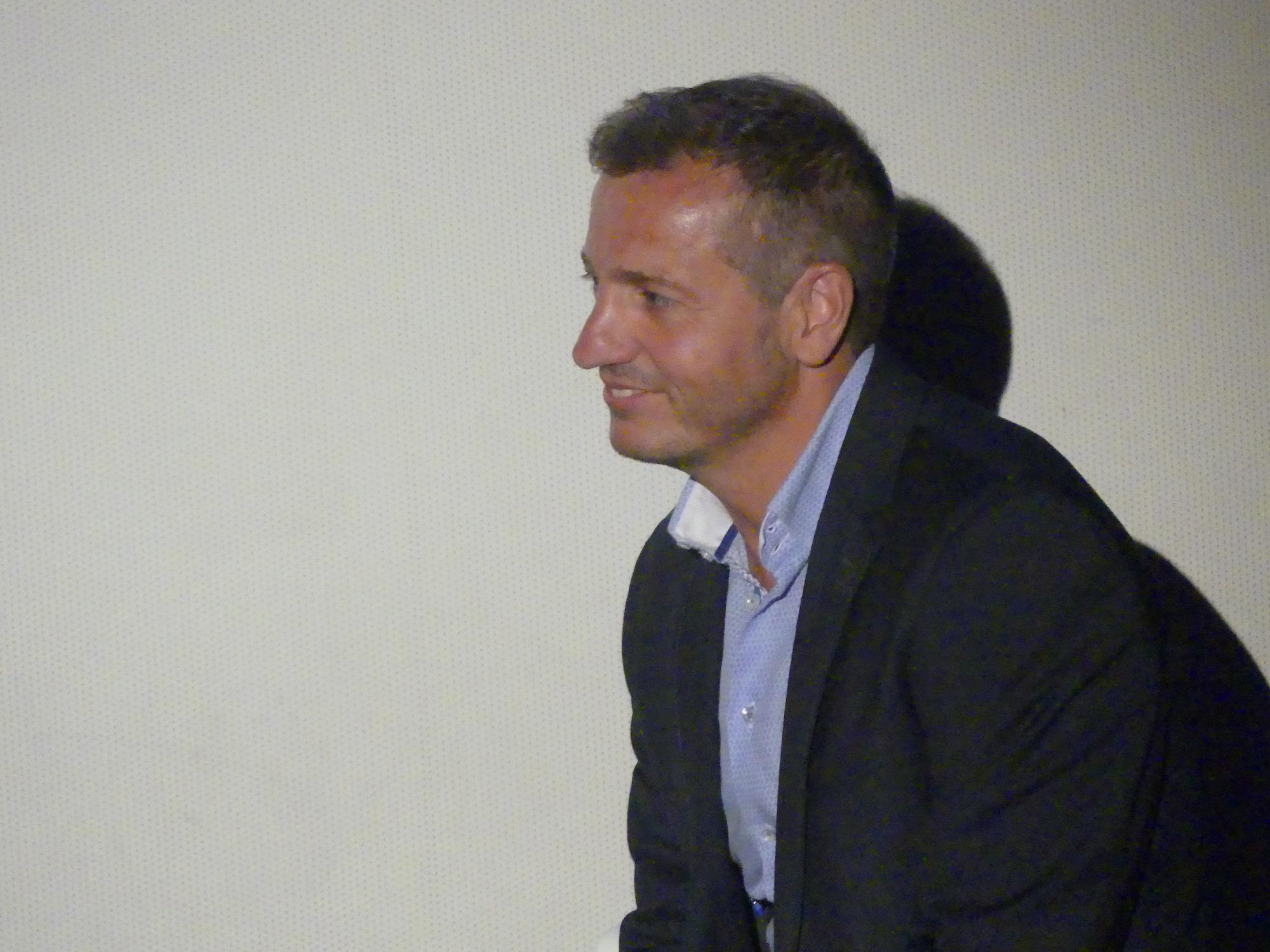 Six Dreams: Quique Carcel, Direttore Sportivo del Girona, alla Premiere a Madrid della docu-serie Amazon