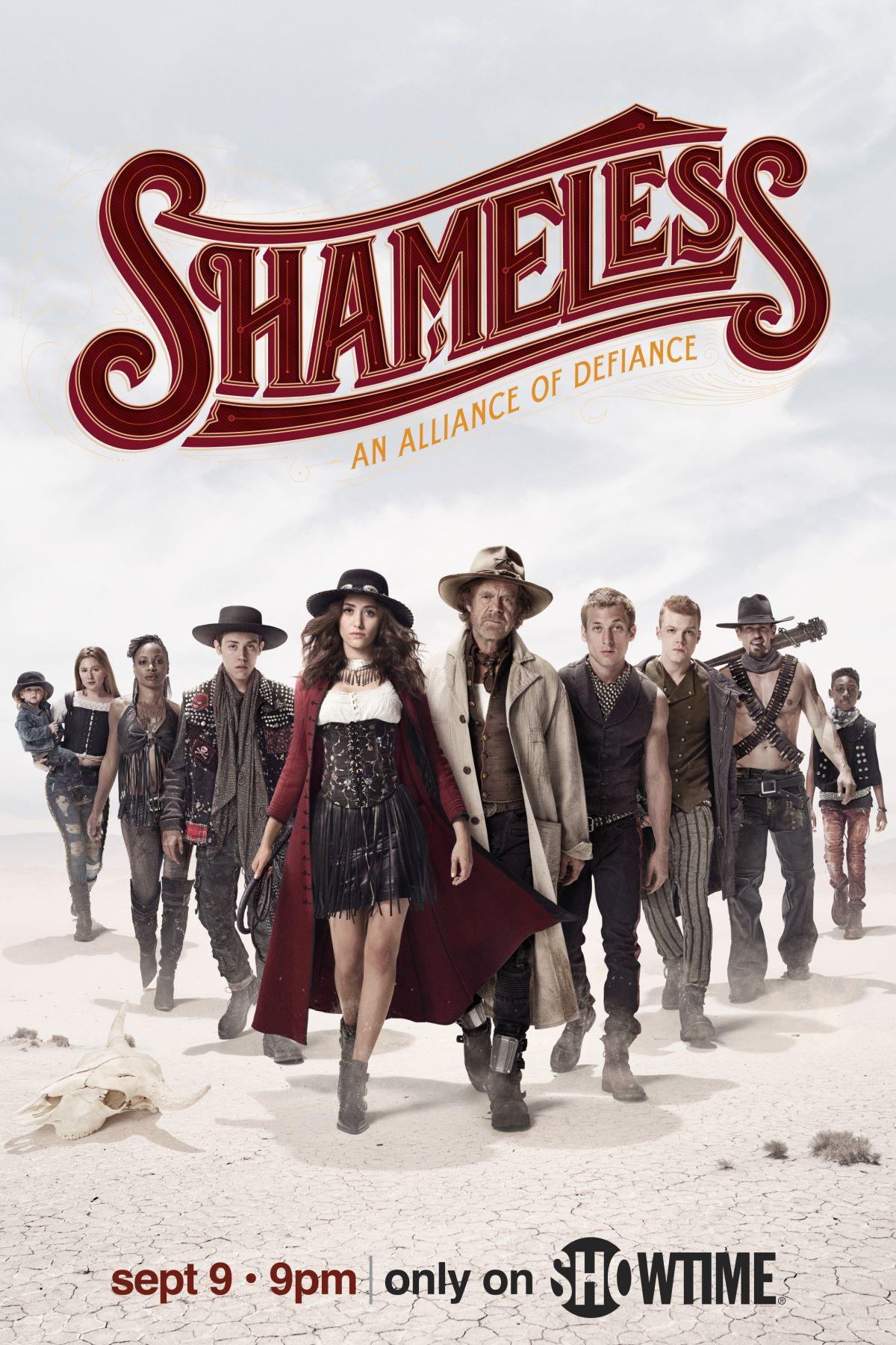 Shameless: il poster della stagione 9