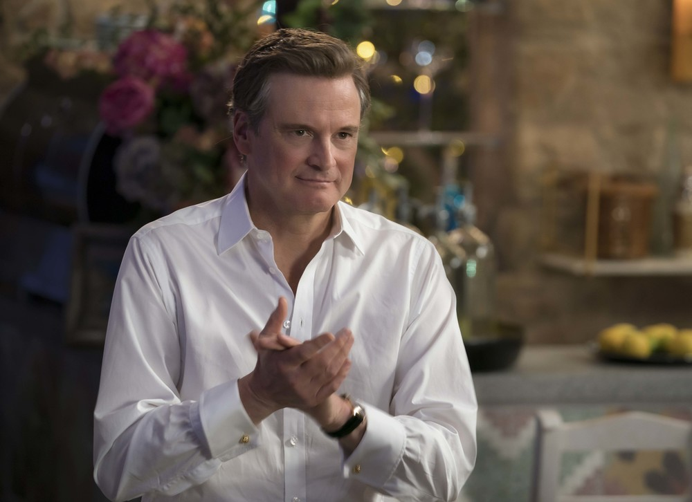 Mamma mia! Ci risiamo: Colin Firth in una scena del film