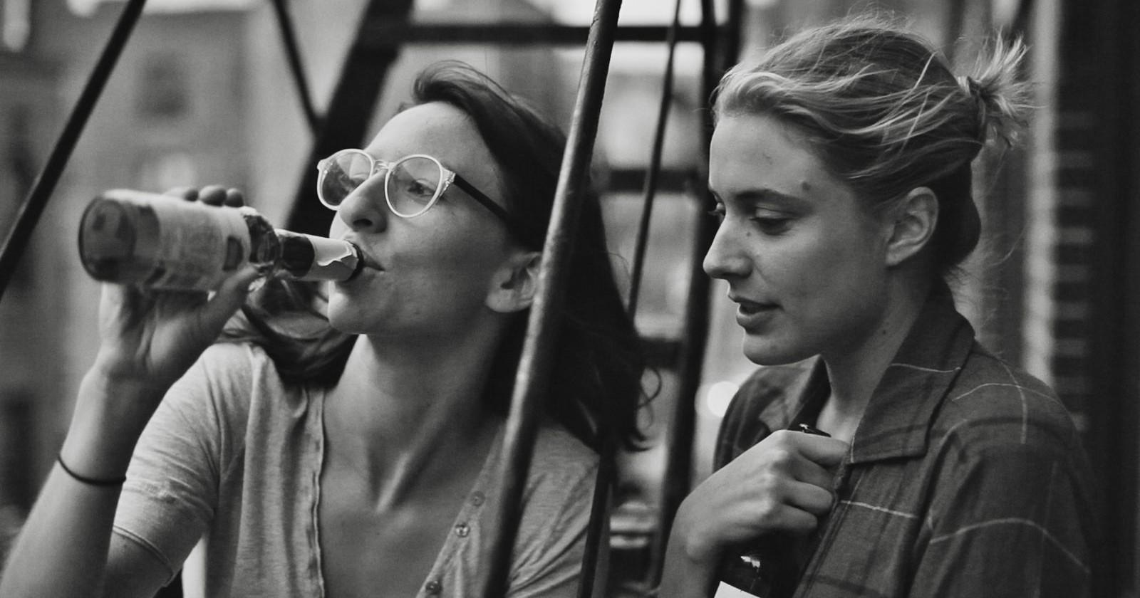 Frances Ha: Greta Gerwig in una scena