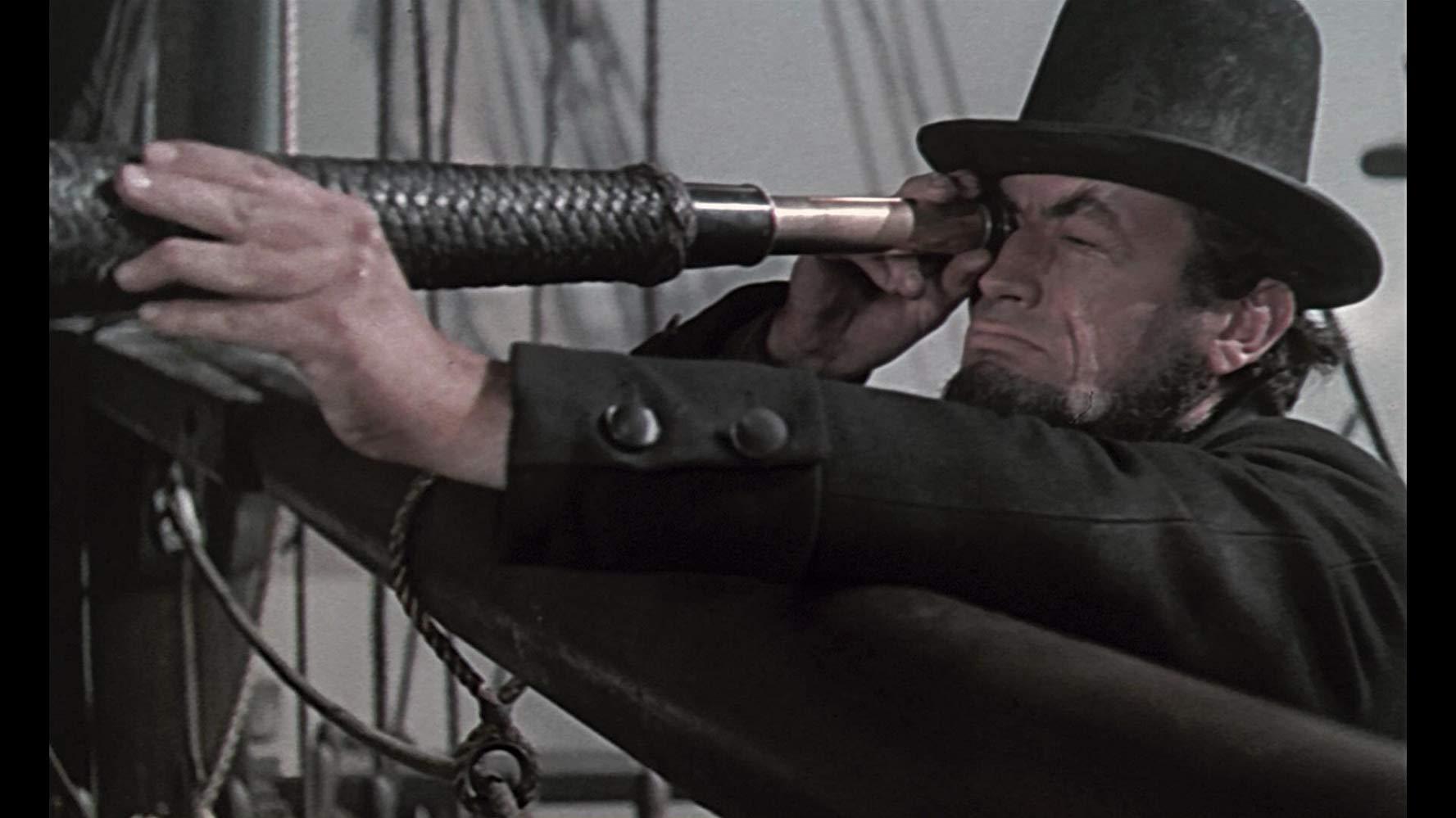 Moby Dick la balena bianca: una scena con Gregory Peck