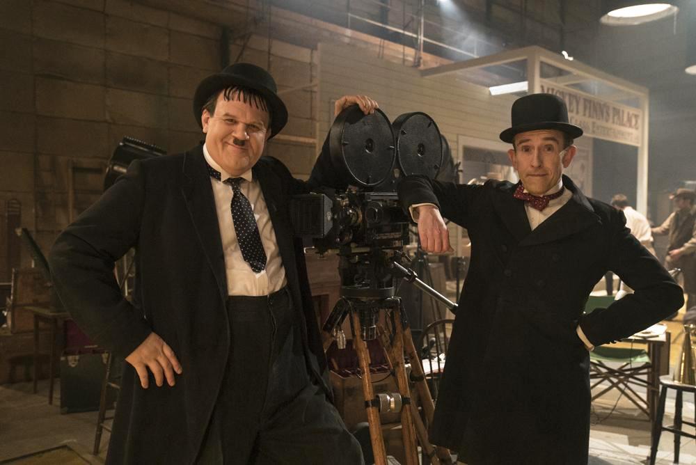 Stan & Ollie: Steve Coogan e John C. Reilly in una foto del film