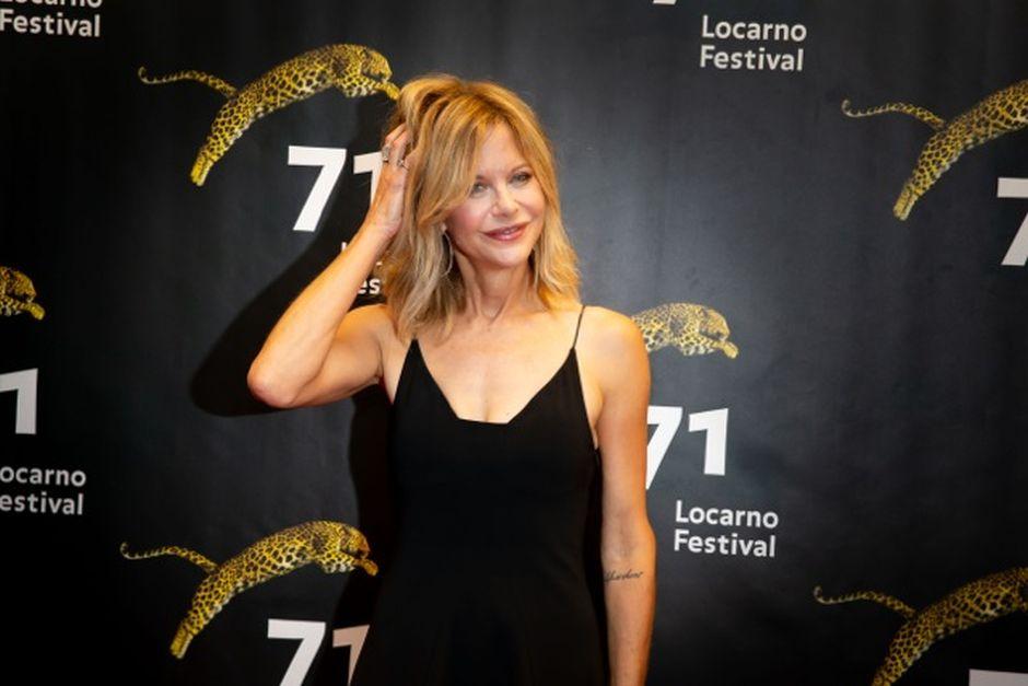 Meg Ryan sensuale a Locarno 2018