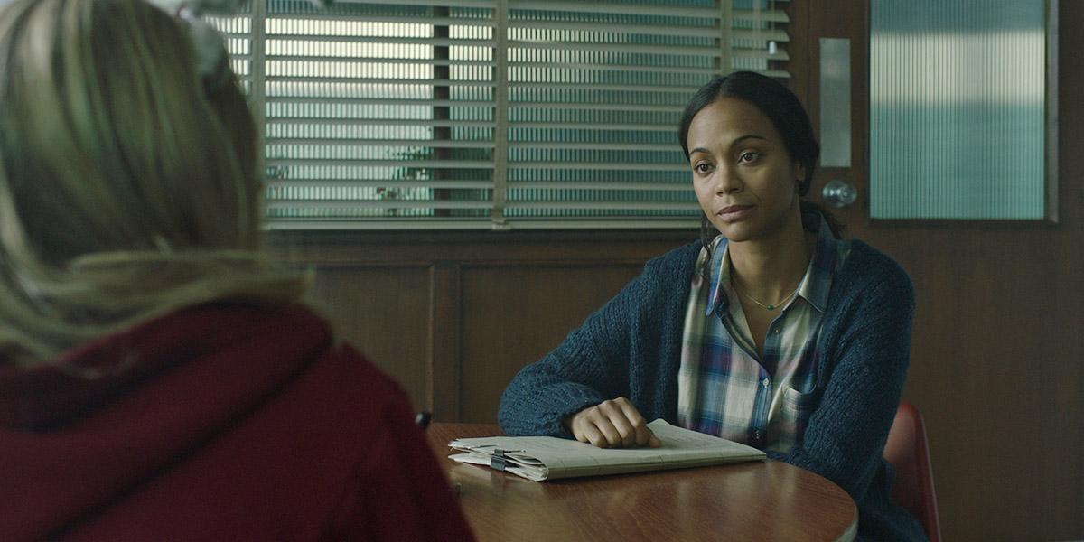 I Kill Giants: Zoe Saldana in una scena del film
