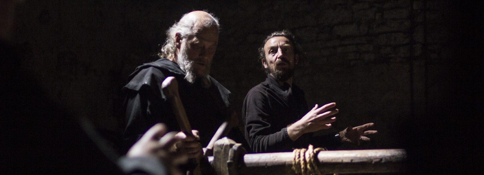 Menocchio: Marcello Martini con il regista Alberto Fasulo