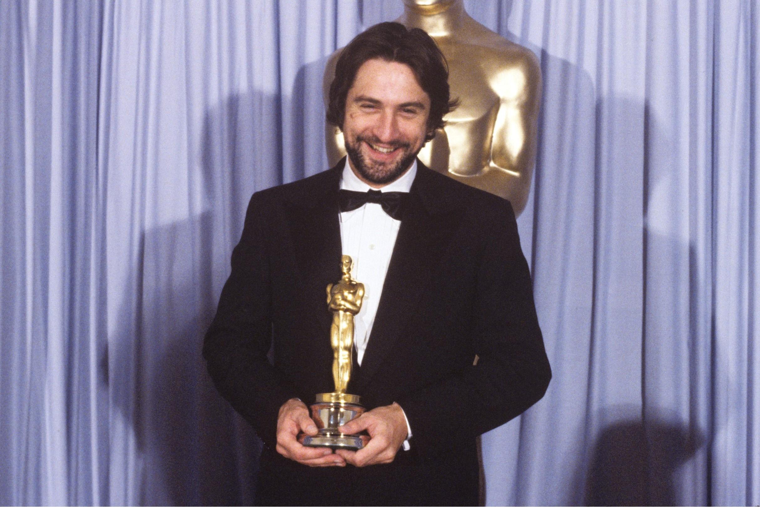 Robert De Niro durante una cerimonia degli Academy Awards
