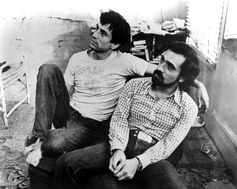 Robert De Niro insieme a Martin Scorsese