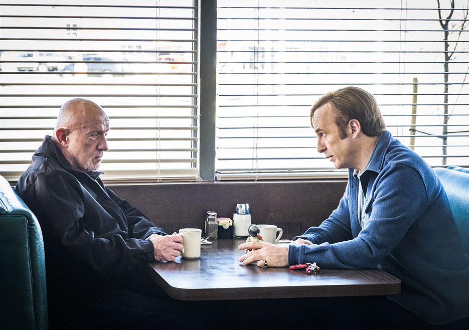Better Call Saul: Bob Odenkirk e Jonathan Banks nella quarta stagione
