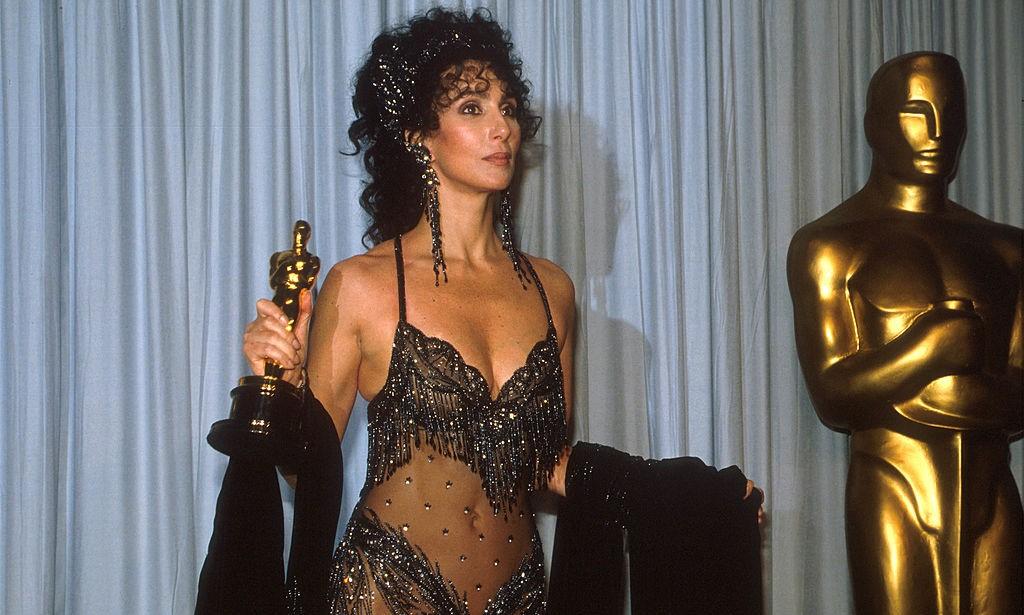 Cher durante una cerimonia degli Academy Awards