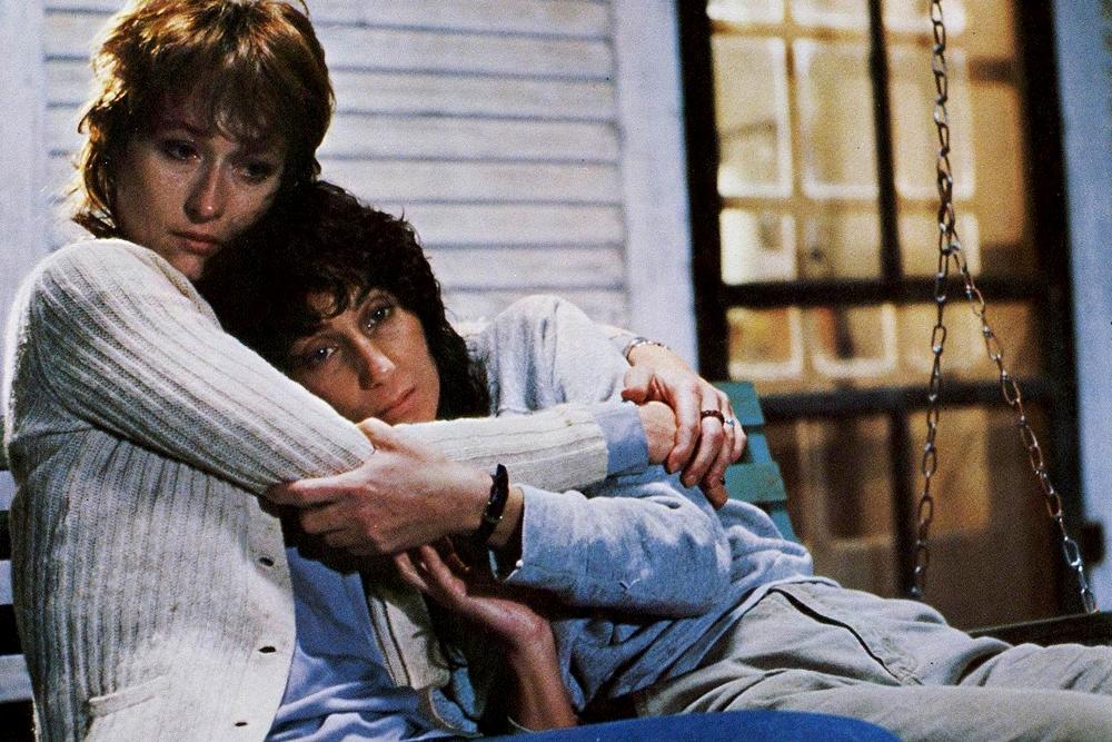 Silkwood: Cher e Meryl Streep in una scena