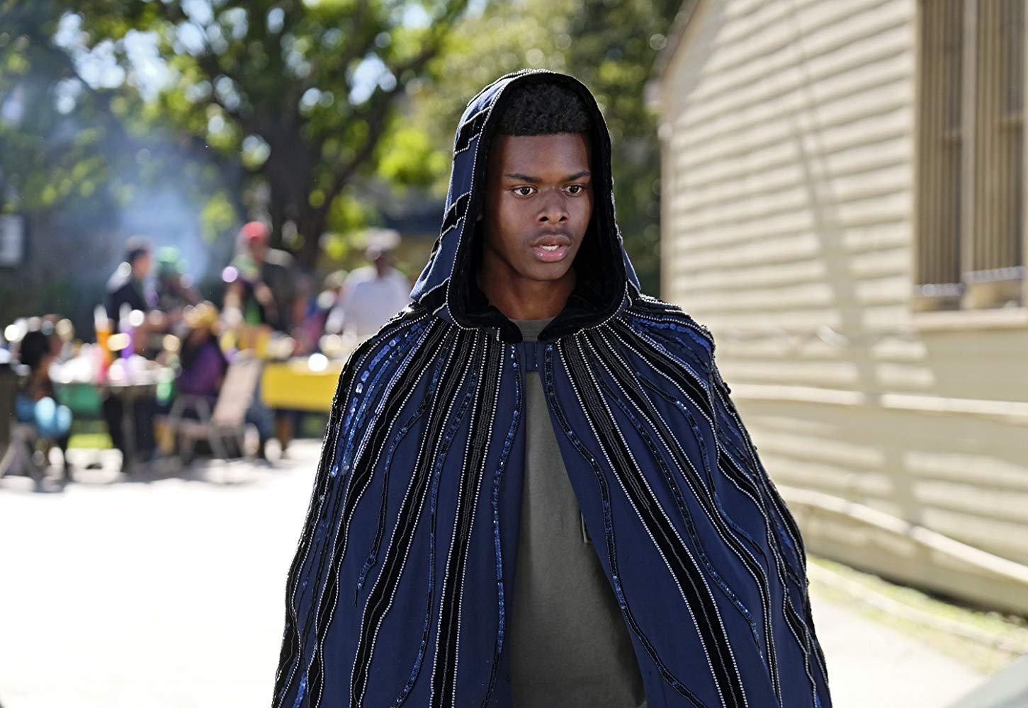 Cloak and Dagger: Aubrey Joseph durante una scena della serie