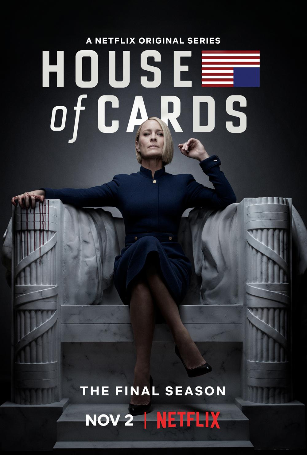 House of Cards: il poster della sesta stagione