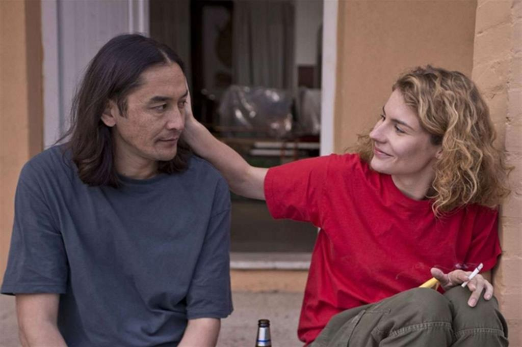 Sembra mio figlio: Basir Ahang e Tihana Lazovich in una scena