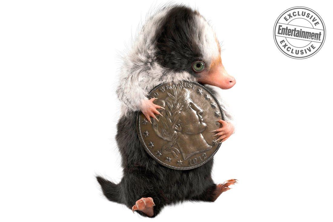 Animali Fantastici: I Crimini di Grindelwald, il concept art di un cucciolo di snaso