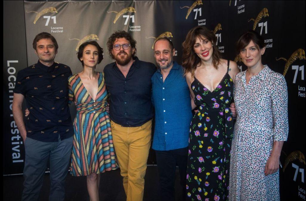 L'ospite: Duccio Chiarini e il cast a locarno 71