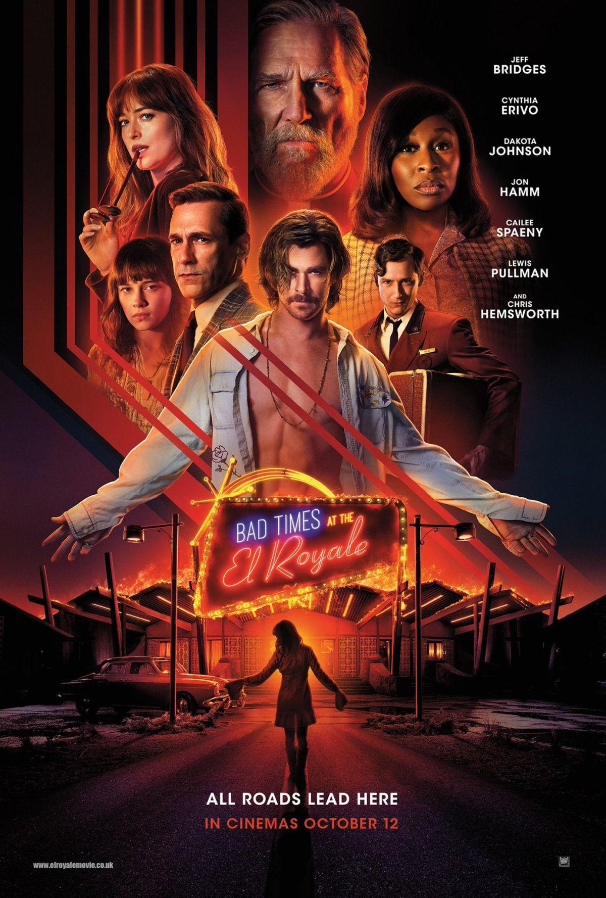 7 Sconosciuti a El Royale: un nuovo poster del film