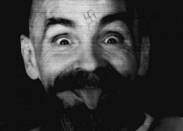 Charles Manson, una foto del capo della setta che uccise Sharon Tate.