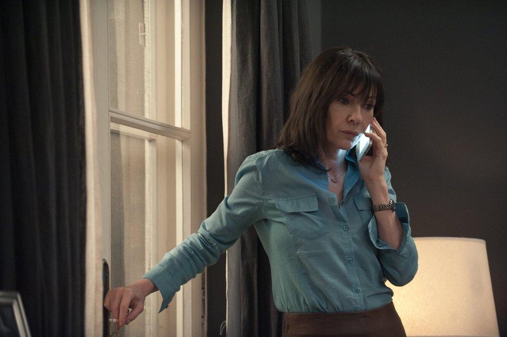 Acusada: Ines Estevez in una scena del film