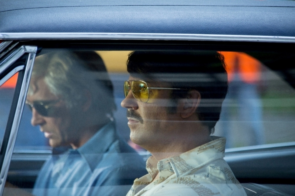 Driven: Lee Pace e Jason Sudeikis in una scena del film