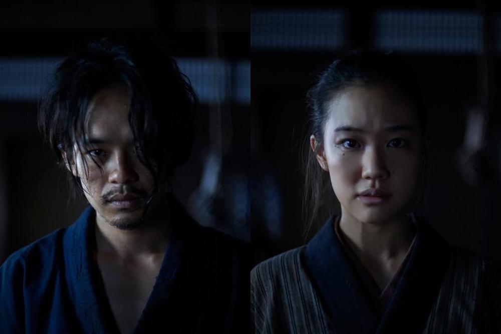 Killing: Sosuke Ikematsu e Yu Aoi in una scena del film