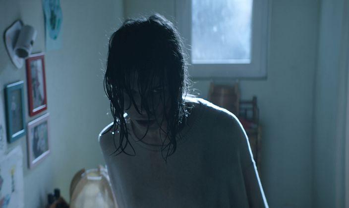 La settima musa: Ana Ularu in una scena del film