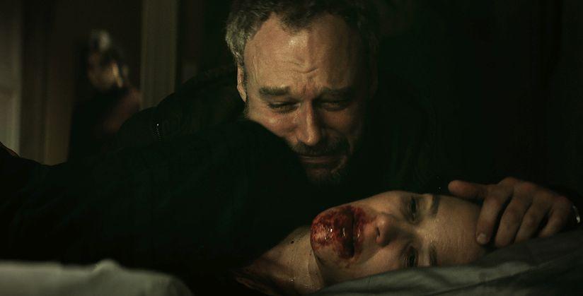 La settima musa: Elliot Cowan e Franka Potente  in una scena del film