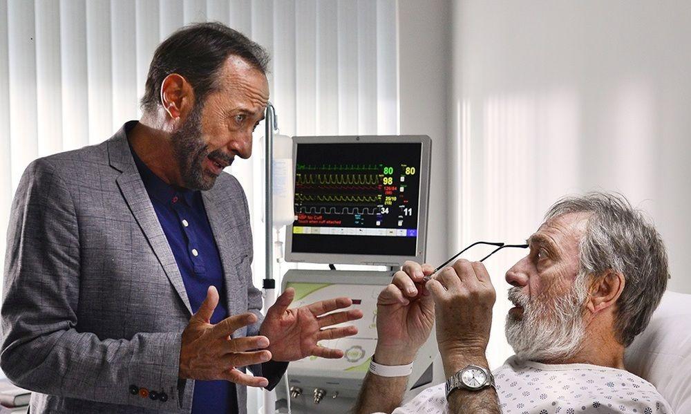 My Masterpiece: Guillermo Francella e Luis Brandoni in una scena del film