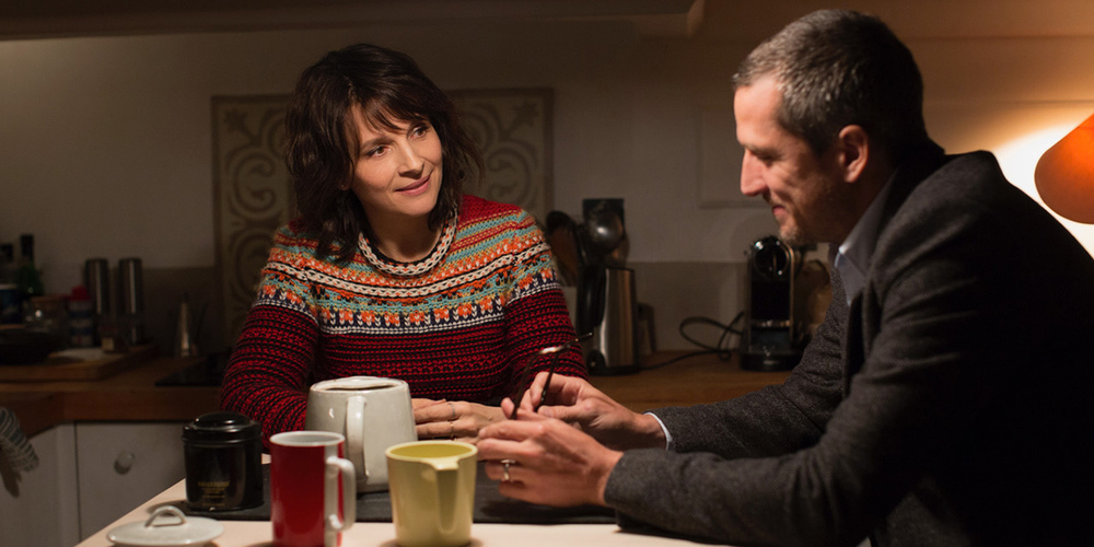 Non-Fiction: Guillaume Canet e Juliette Binoche in una scena del film