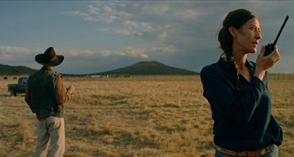 Nuestro tiempo: Natalia Lopez in una scena del film
