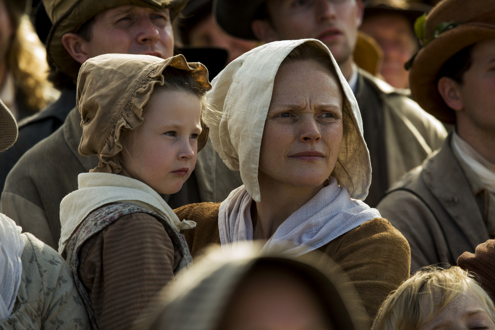 Peterloo: Maxine Peake in una scena del film