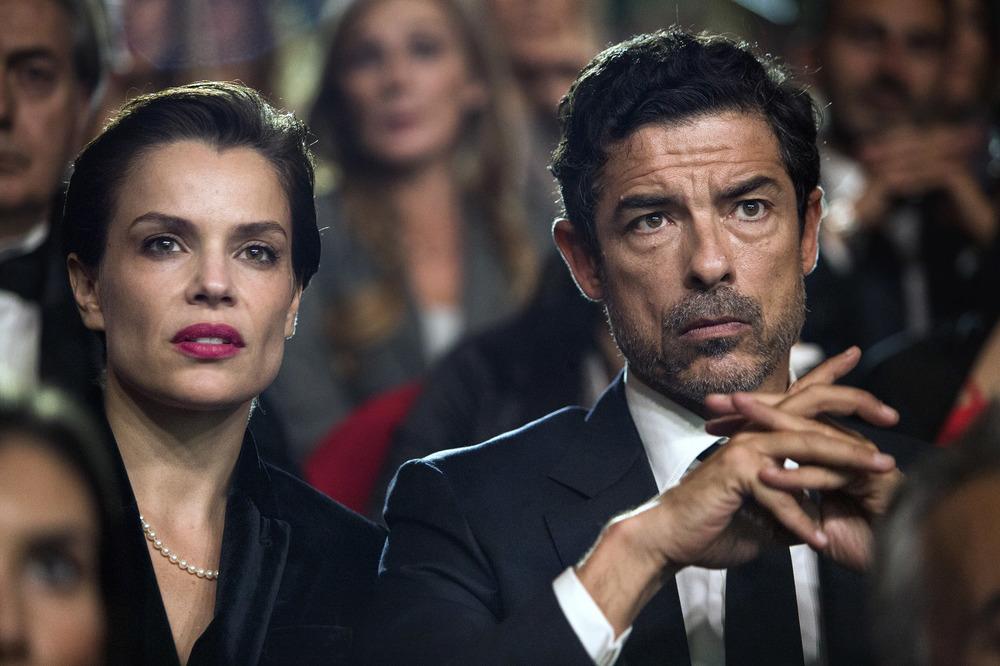 Una storia senza nome: Micaela Ramazzotti e Alessandro Gassman in una scena del film