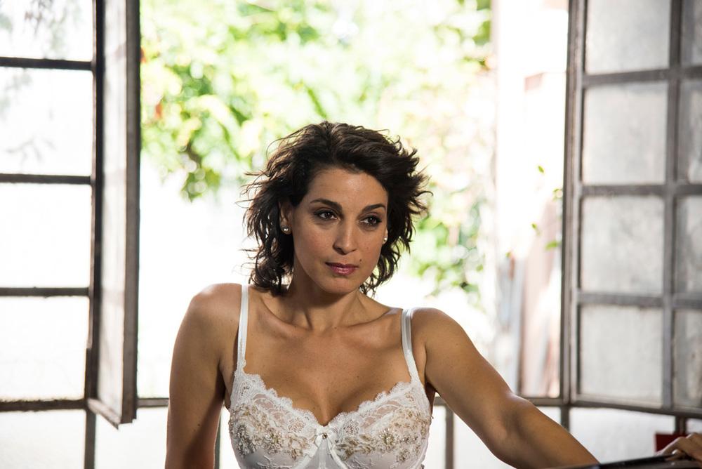 Beate: Donatella Finocchiaro in un momento del film
