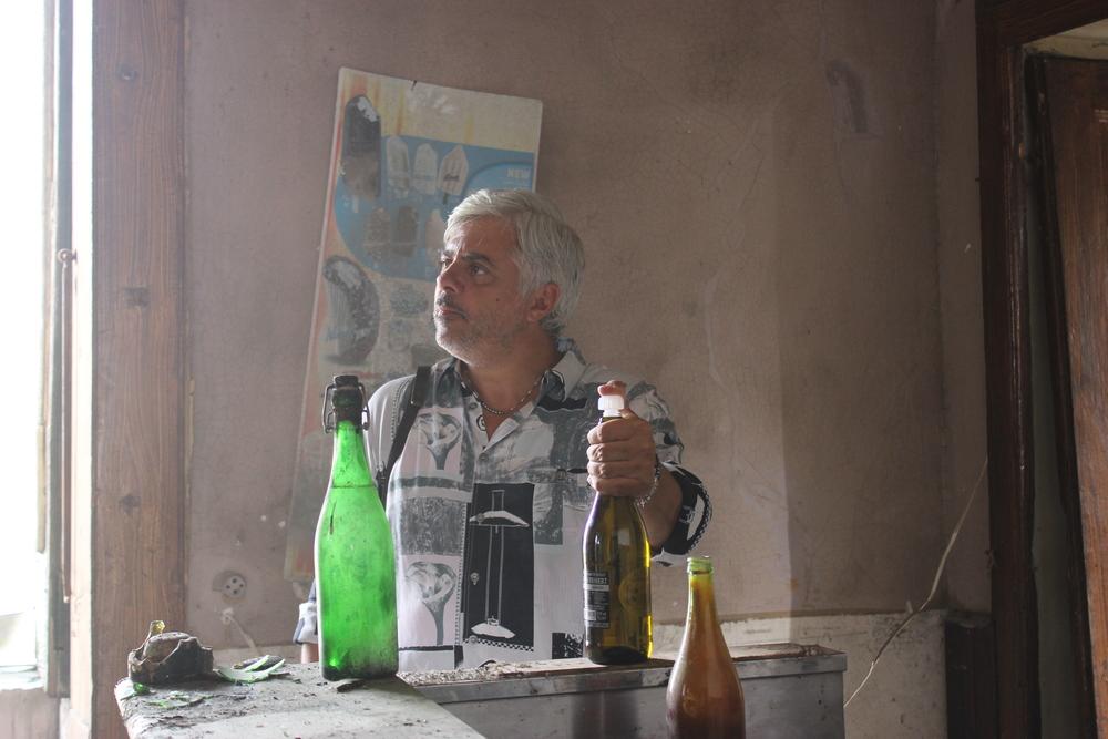 Il bene mio: Dino Abbrescia in una scena del film