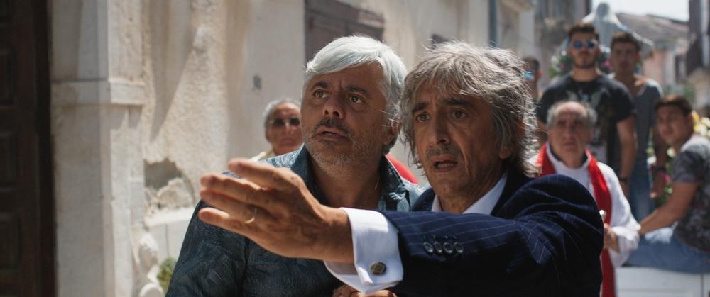Il bene mio: Dino Abbrescia e Sergio Rubini in un momento del film