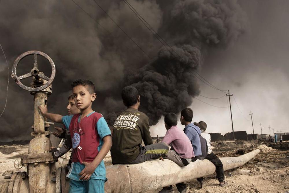 Isis, Tomorrow. The Lost Souls of Mosul: un momento del documentario
