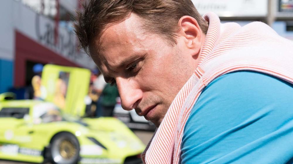 Le fidèle: Matthias Schoenaerts in un momento del film