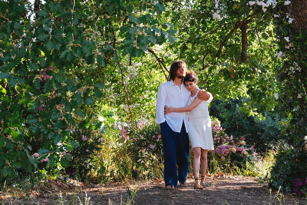 Ricordi?: Luca Marinelli e Linda Caridi in un'immagine del film