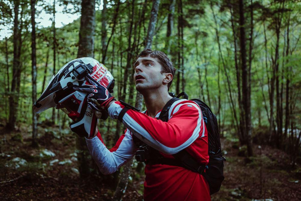 Ride: Ludovic Hughes in una scena del film