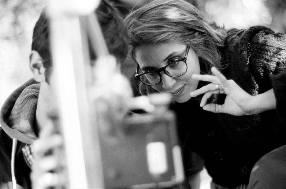 Saremo giovani e bellissimi: Letizia Lamartire sul set del film