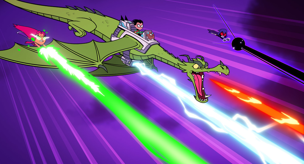 Teen Titans Go! Il film: un momento del film animato