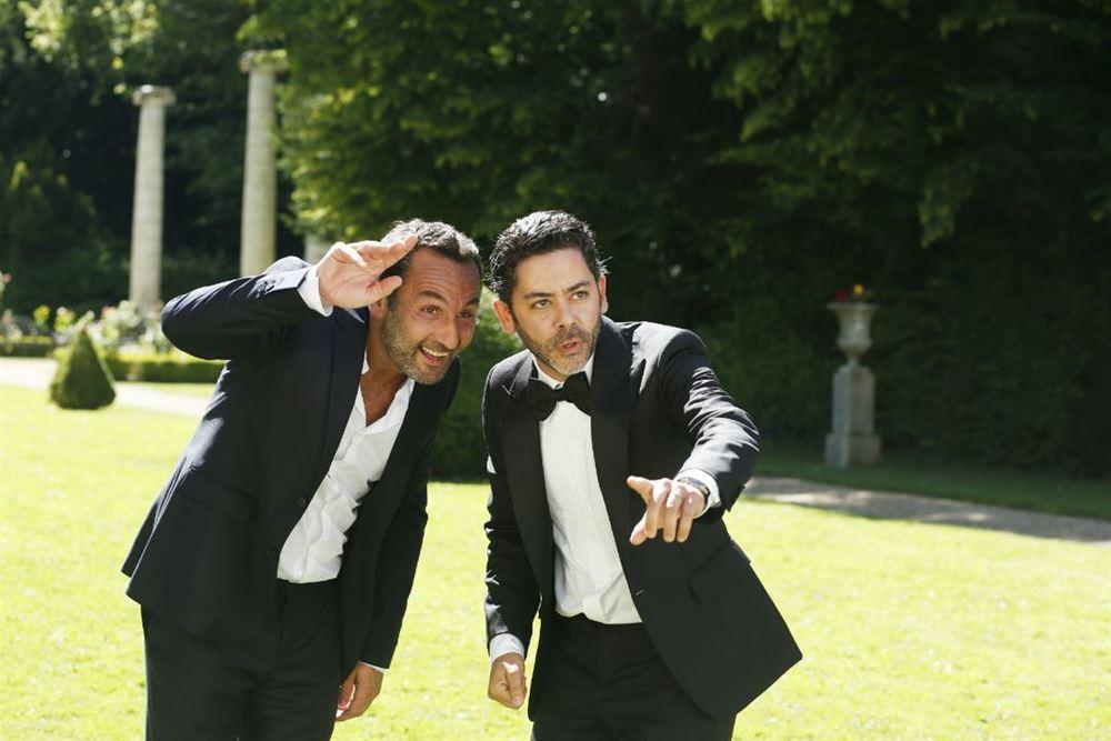 Separati ma non troppo: Manu Payet e Gilles Lellouche in una scena del film