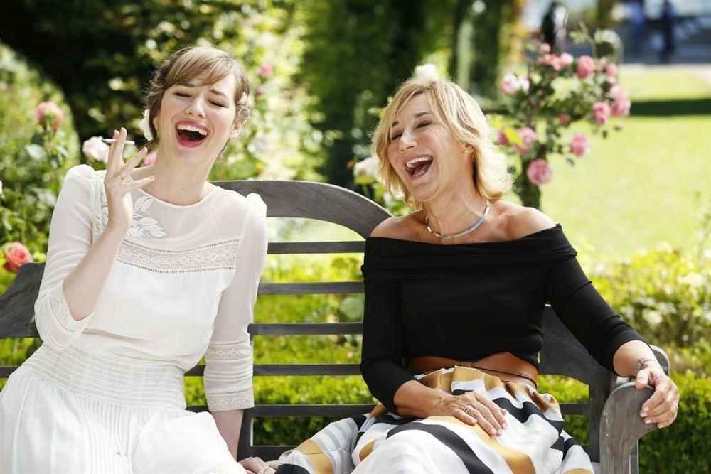 Separati ma non troppo: Louise Bourgoin e Marie-Anne Chazel in una scena del film