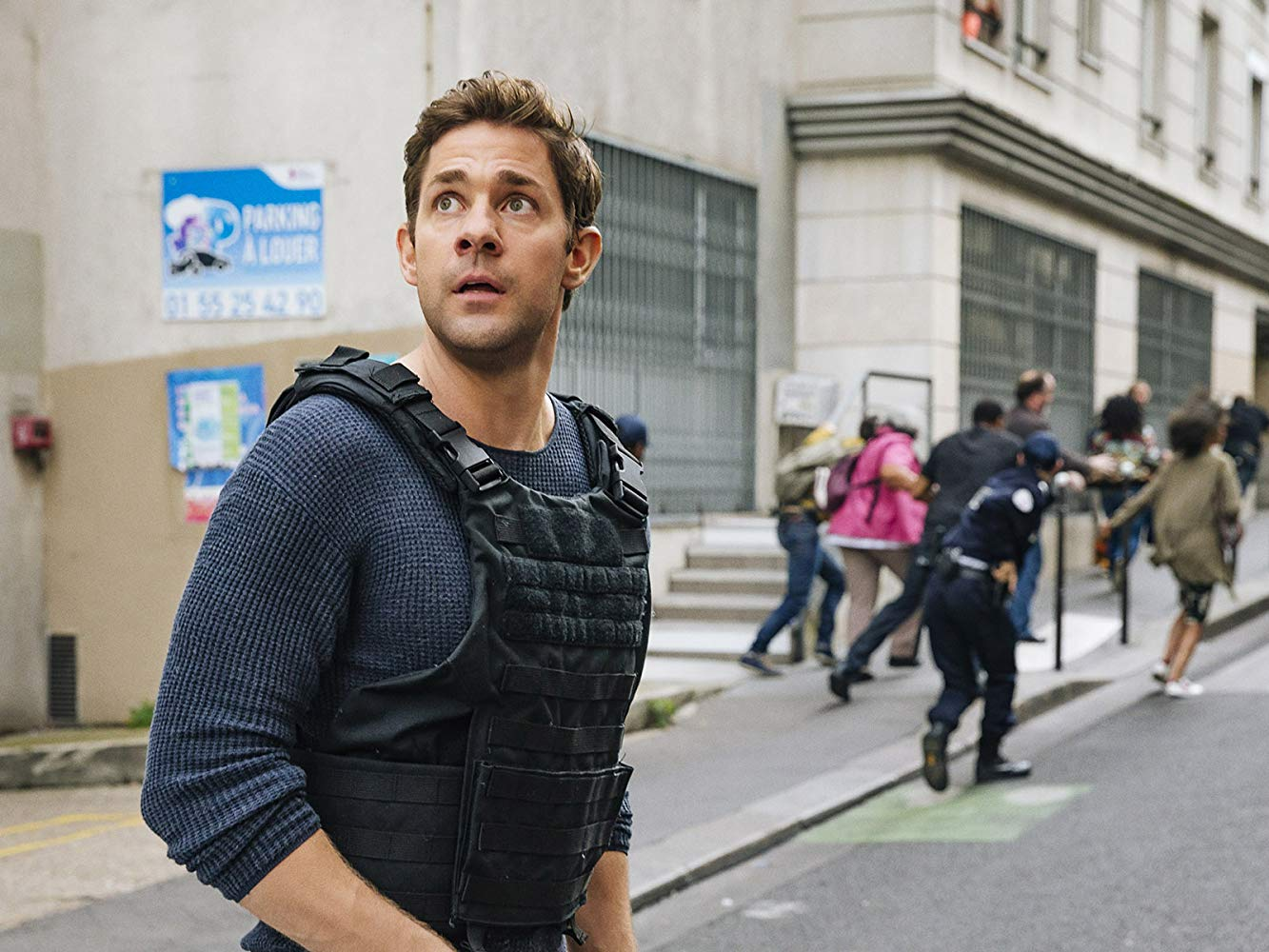 Tom Clancy's Jack Ryan: John Krasinski in una scena