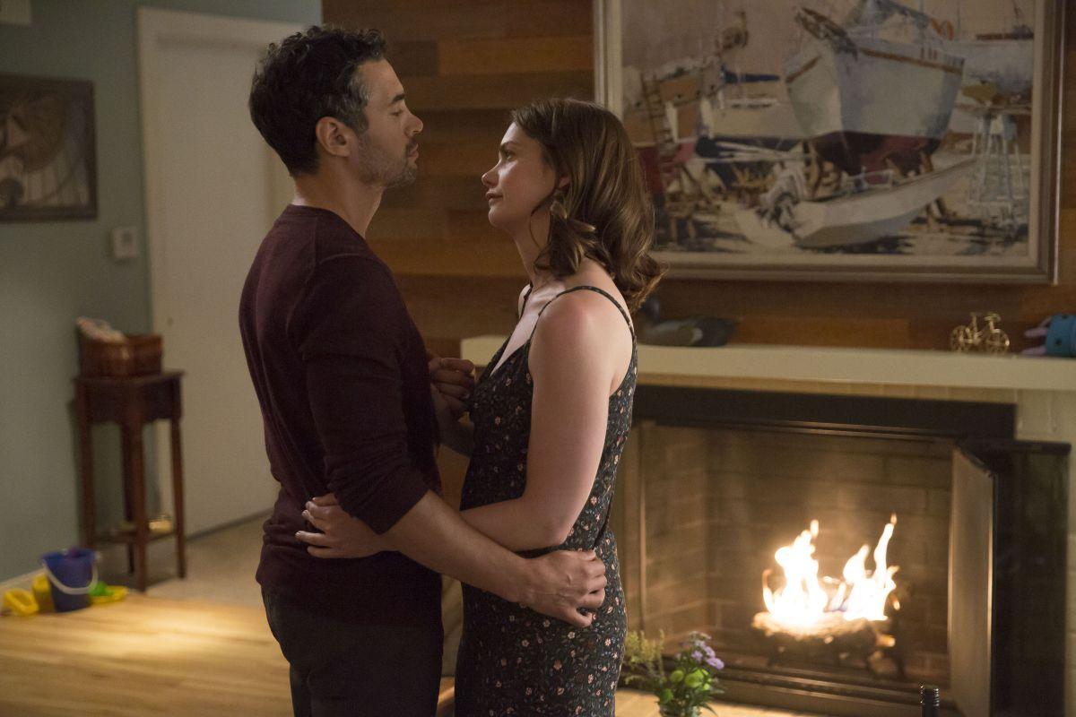 The Affair: Una scena con Ruth Wilson, nono episodio della quarta stagione