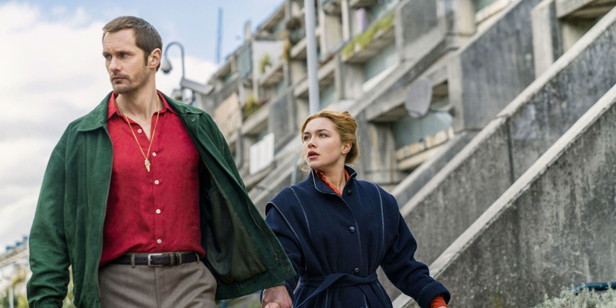 The Little Drummer Girl: Alexander Skarsgård e Florence Pugh