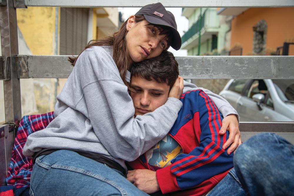 Un giorno all'improvviso: Giampiero De Concilio e Anna Foglietta in un momento del film