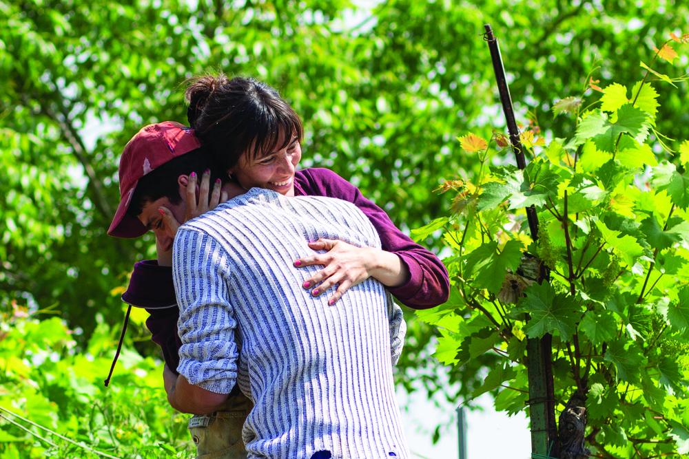 Un giorno all'improvviso: Anna Foglietta e Giampiero De Concilio in un'immagine del film