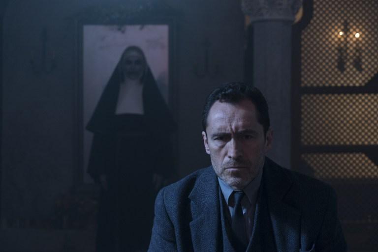 The Nun: Demian Bichir in un'immagine del film