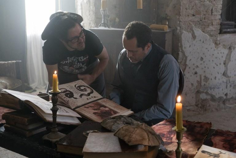 The Nun: una foto scattata durante le riprese